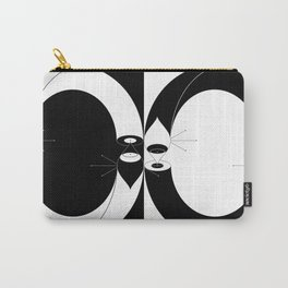 Ouroboros Eye Half And Half Carry-All Pouch