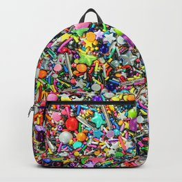 Rainbow Sprinkles - cupcake toppings galore Backpack