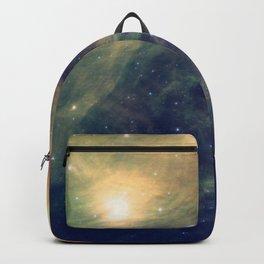 Galaxy: Pleiades Star Cluster neBULa Deep Pastels Backpack