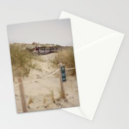 Walking In The Dunes Stationery Cards