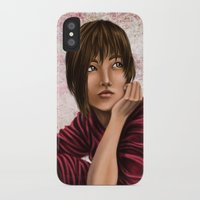 chihiro iPhone & iPod Cases featuring Chihiro from Spirited Away 2 by Kimberly Castello
