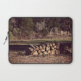 Ranch Firewood Laptop Sleeve