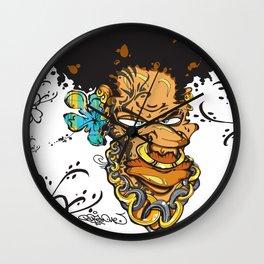 Momand'loup Wall Clock