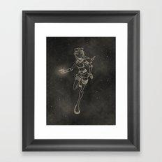 Teen Titans: Starfire Framed Art Print