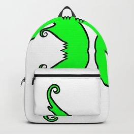 Fairy Wings Green Backpack
