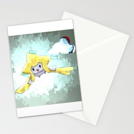 Jirachi Poke Mon Stationery Cards