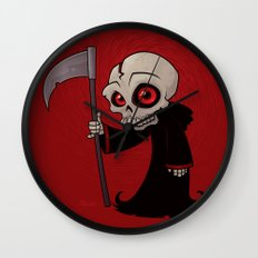 Little Reaper Wall Clock