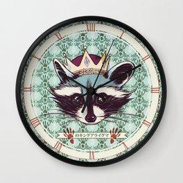 King Racoon · Ver.2 Wall Clock