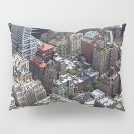 Roofs of New York. Pillow Sham