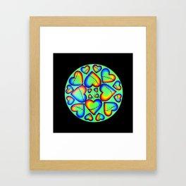 Mended Framed Art Print