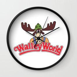 WalleyWorld Wall Clock