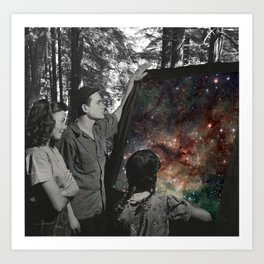 Look Into Natures Universe Art Print