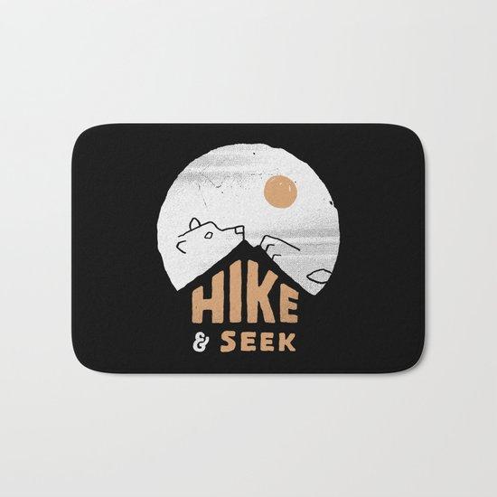 Hike And Seek Bath Mat