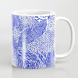 Blue sand Coffee Mug
