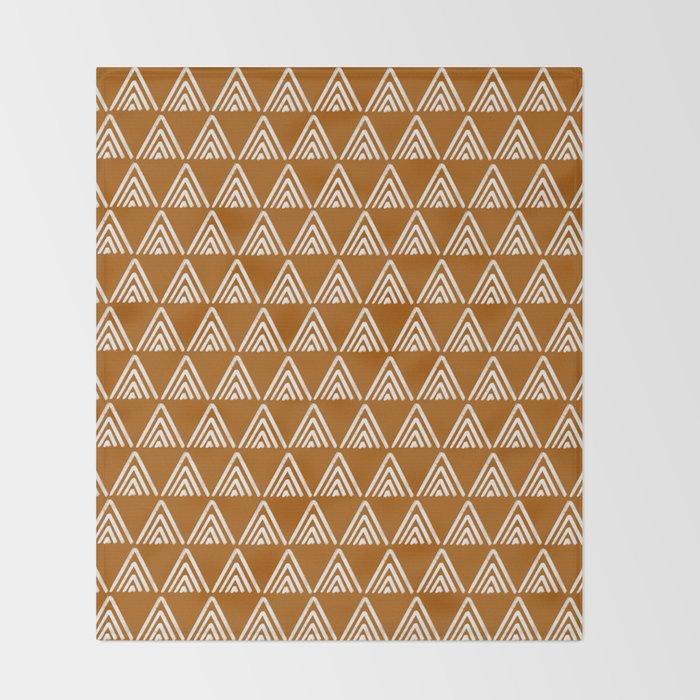 Arrows >> Clay Throw Blanket