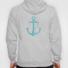AFE Nautical Aqua Ship Anchor Hoody