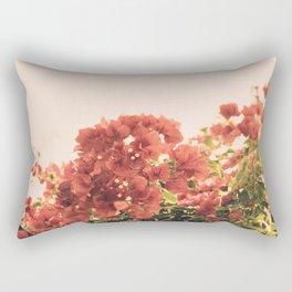 Bouganvillea Morning #3 Rectangular Pillow