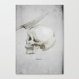 Headache Canvas Print