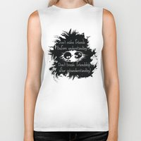friendship Biker Tanks featuring Friendship by Cindys