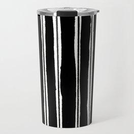 Uneven Stripes Travel Mug