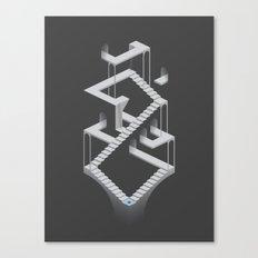 Monument Maze 2 Canvas Print