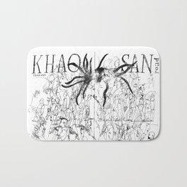 Southeast Asia Sketches: Khao San Road Bath Mat
