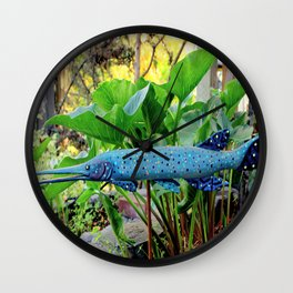 In The GAR-den Wall Clock