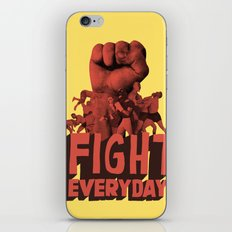 FIGHT EVERYDAY iPhone & iPod Skin