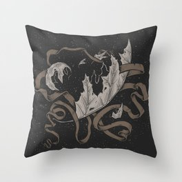 Night falling  Throw Pillow