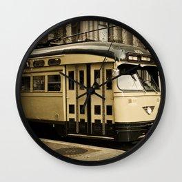 San Francisco Street Car Wall Clock