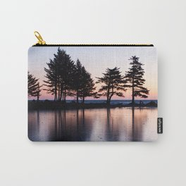 Winter Sunrise Photography Print Carry-All Pouch
