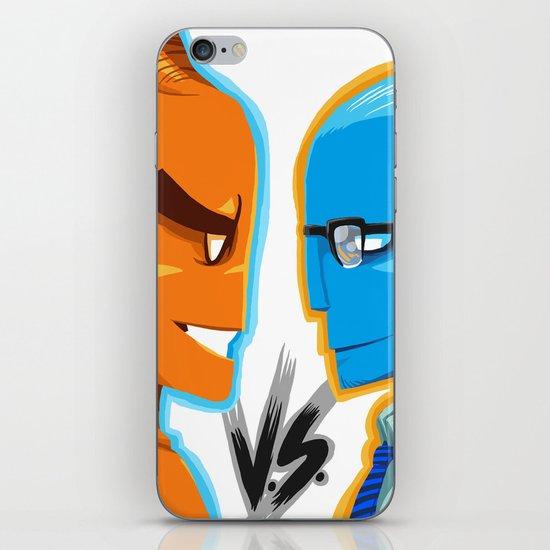BLUE VS ORANGE iPhone & iPod Skin