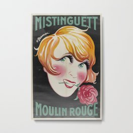 Vintage poster - French Club Metal Print