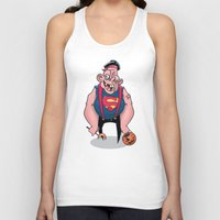 sloth Tank Tops featuring Sloth by Artistic Dyslexia