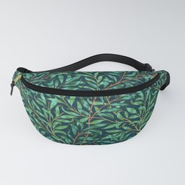 Midnight leaves Fanny Pack