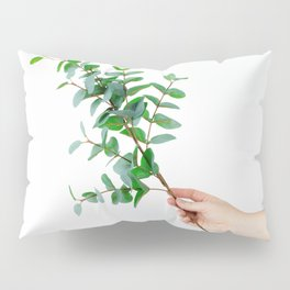 Botany in Her Hand (Color) Pillow Sham