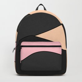 Happy Place - Black Pink Backpack