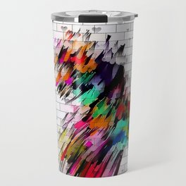 Wall of Color by Nico Bielow Travel Mug