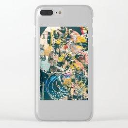 Art Graffiti vintage 4 Clear iPhone Case