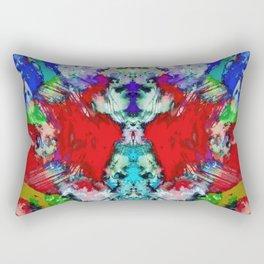 Shouting flares Rectangular Pillow