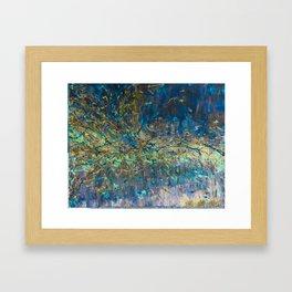 126.5 GeV - The Higgs Dimension Inverted Framed Art Print