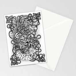Fenrir - The Famed Wolf Stationery Cards