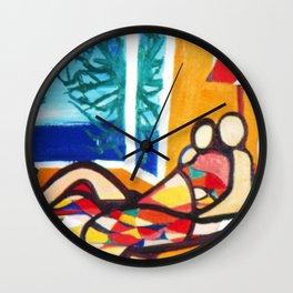 HONEYMOON         by Kay Lipton Wall Clock