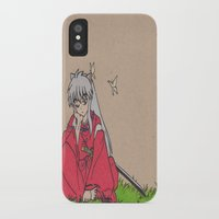 inuyasha iPhone & iPod Cases featuring InuYasha by MoonKitty Designs