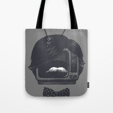 The Classiest TV Set Tote Bag