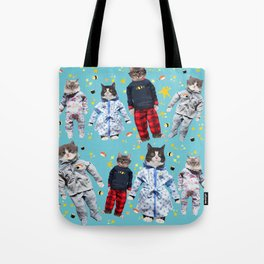 Cat Naps & Sushi Dreams by Crow Creek Coolture Tote Bag