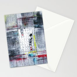 Grid Life Stationery Cards
