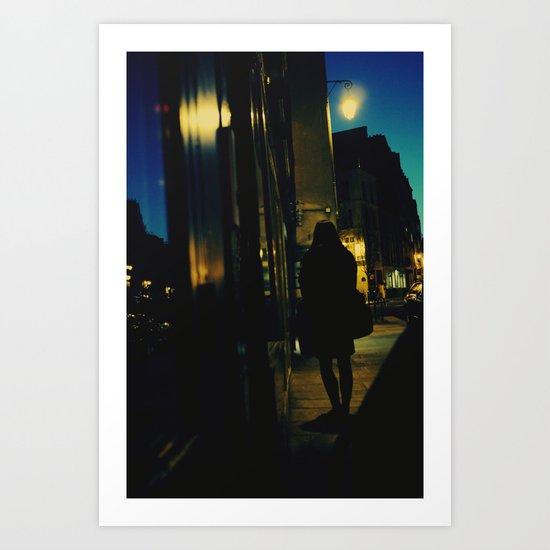 Dark Hour Art Print