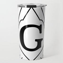 Square and Compasses - symbol of Masonry Travel Mug