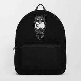 Screech - Black Backpack